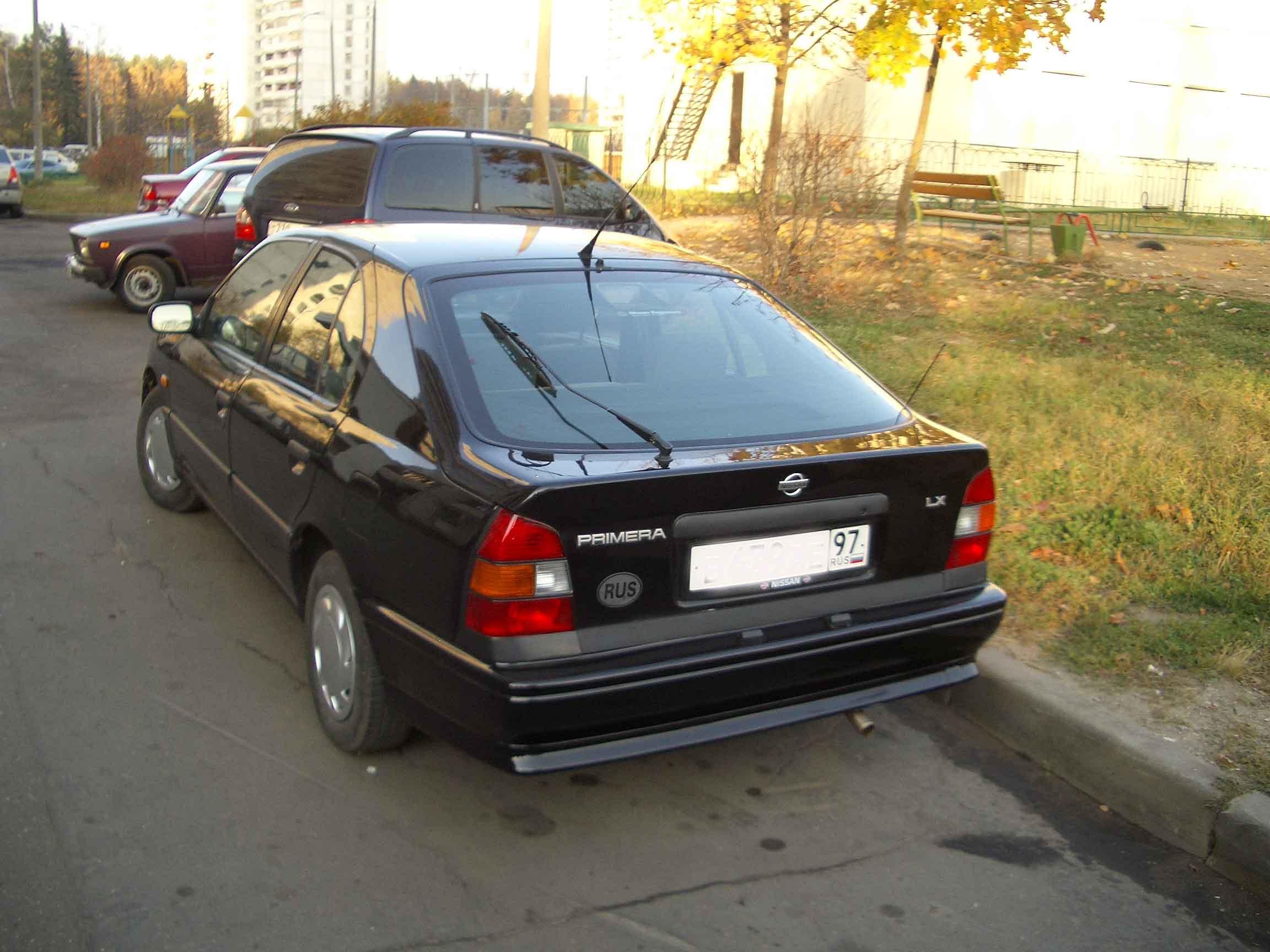 nissan primera 1991 фото: