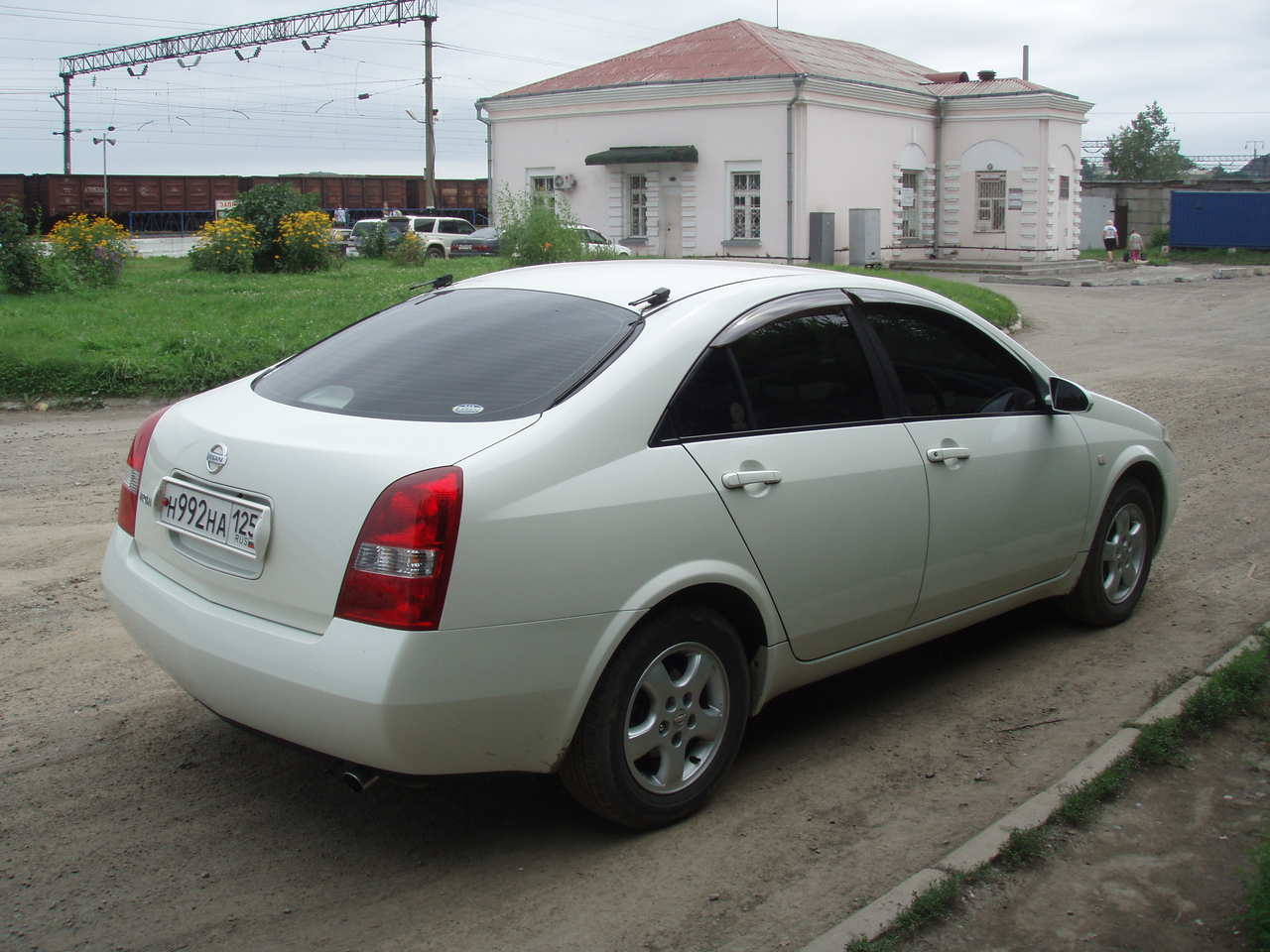 used 2002 nissan primera photos 1800cc gasoline ff automatic for sale. Black Bedroom Furniture Sets. Home Design Ideas