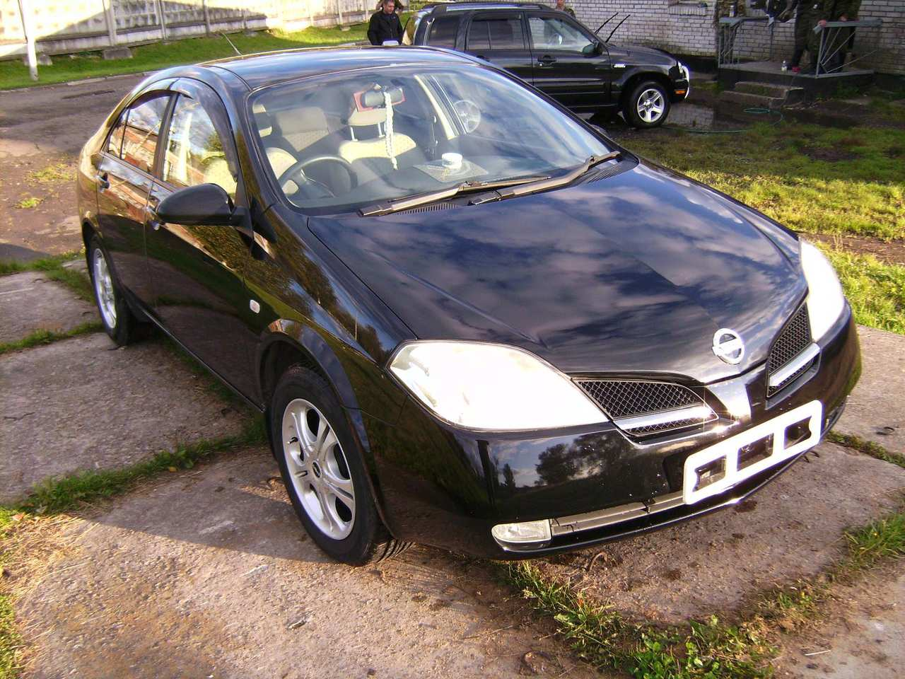 2002 nissan primera pictures gasoline ff automatic for sale. Black Bedroom Furniture Sets. Home Design Ideas