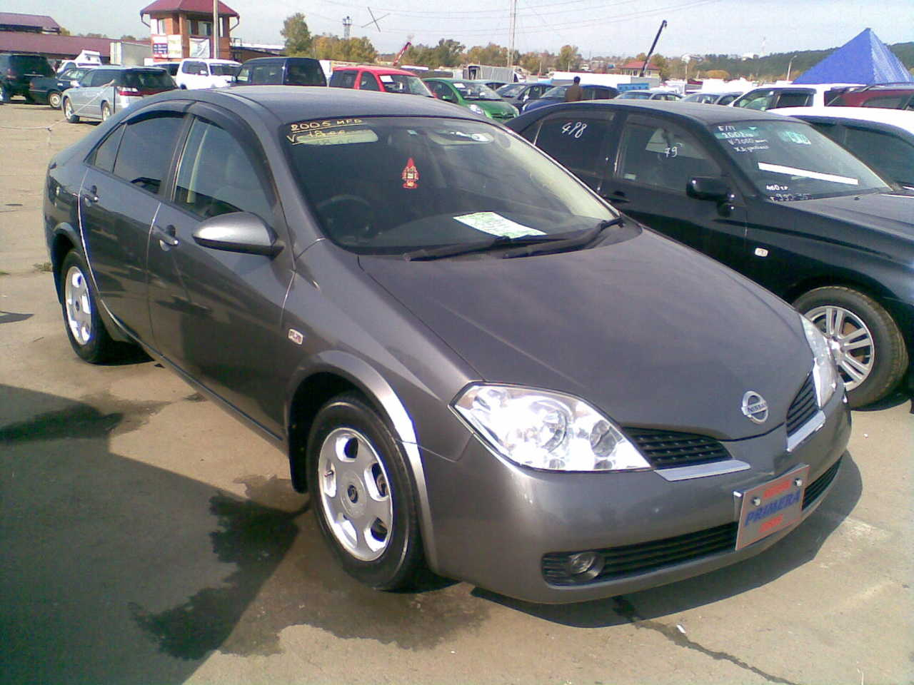 2005 nissan primera images 1800cc gasoline ff automatic for sale. Black Bedroom Furniture Sets. Home Design Ideas