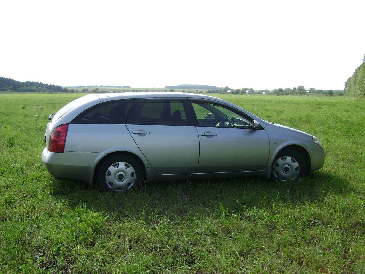 2003 nissan primera wagon pictures gasoline ff cvt for sale. Black Bedroom Furniture Sets. Home Design Ideas