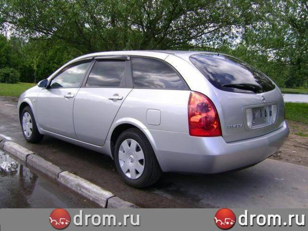 2005 nissan primera wagon pictures. Black Bedroom Furniture Sets. Home Design Ideas