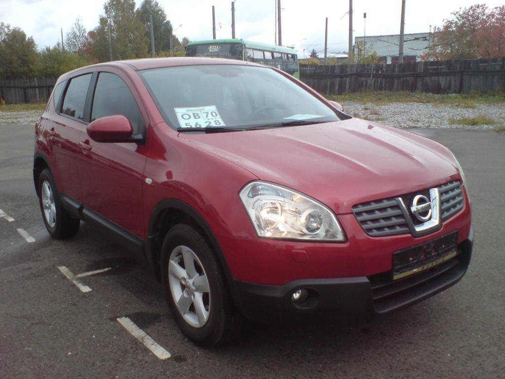 used 2007 nissan qashqai photos 2000cc gasoline automatic for sale. Black Bedroom Furniture Sets. Home Design Ideas