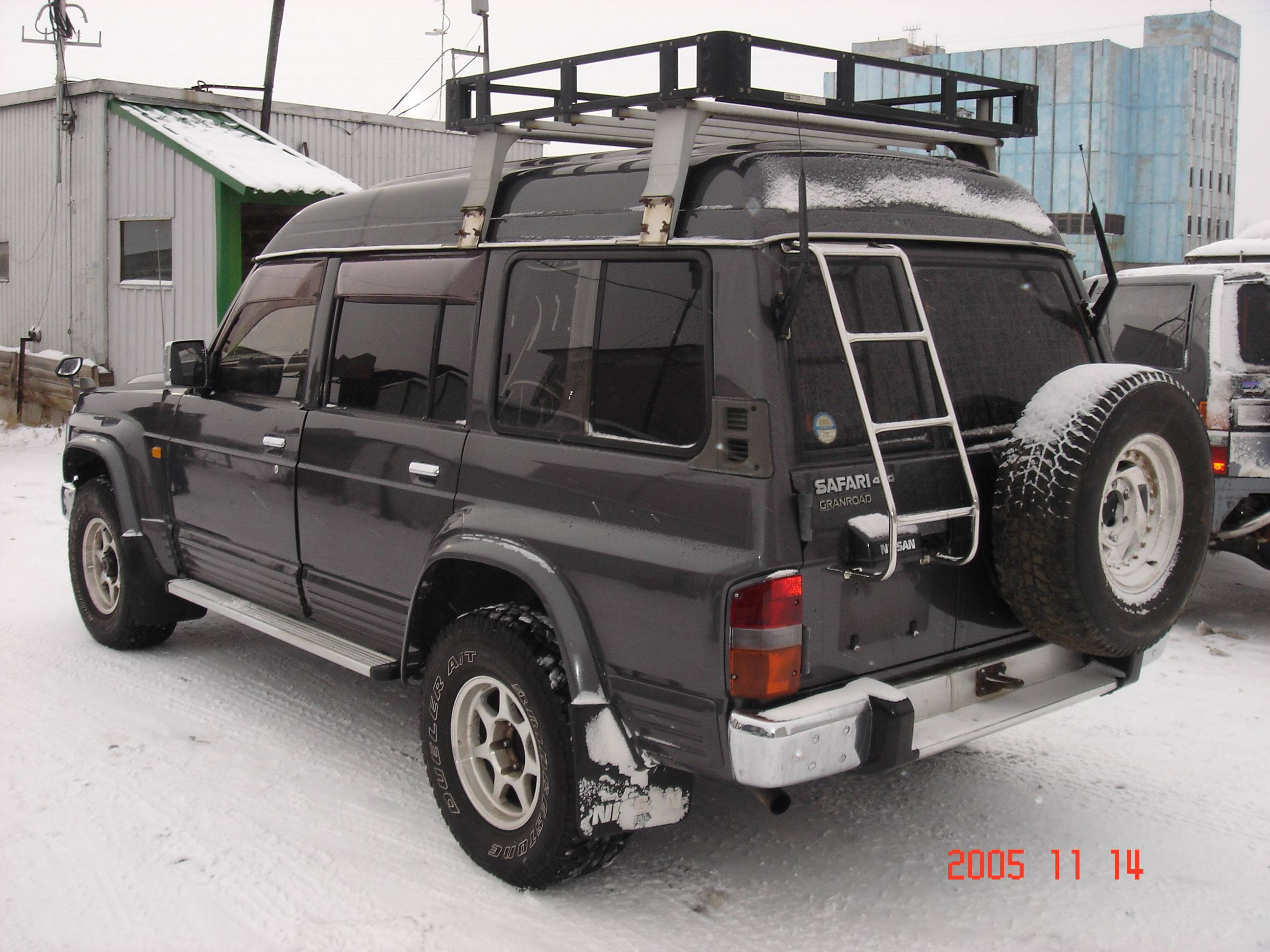 Rear Main Seal Replacement Cost >> 1993 Nissan Safari Pictures, 4200cc., Diesel, Manual For Sale