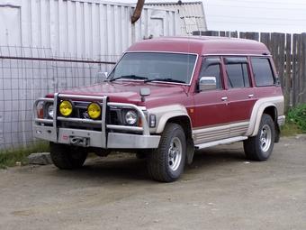 1994 Nissan Safari Pictures, 4.2l., Diesel, Automatic For Sale