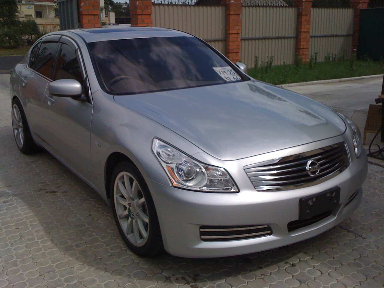 used 2007 nissan skyline photos 2500cc gasoline fr or rr cvt for sale. Black Bedroom Furniture Sets. Home Design Ideas