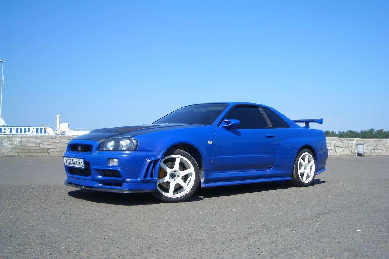 2001 Nissan Skyline Gt R For Sale 2 6 Gasoline Manual