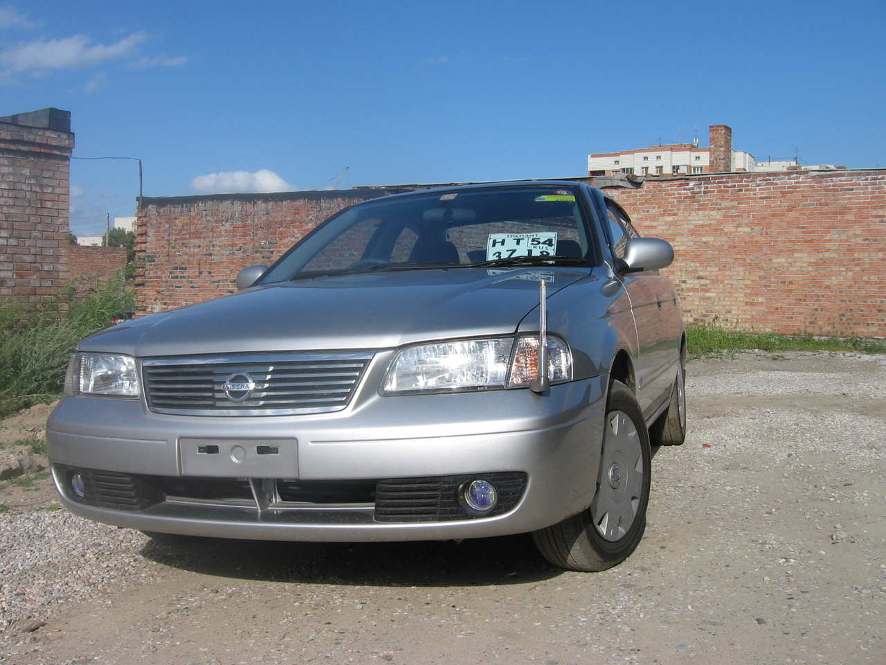 2003 nissan sunny pictures  1 5l   gasoline  ff  manual
