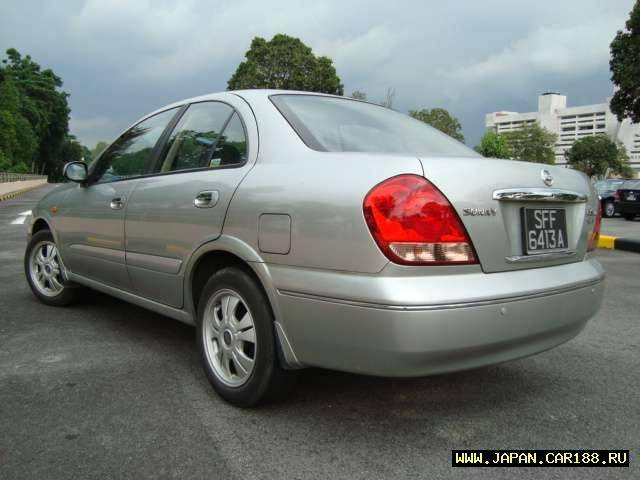 2003 Nissan Sunny Pictures, 1600cc., Gasoline, Automatic ...