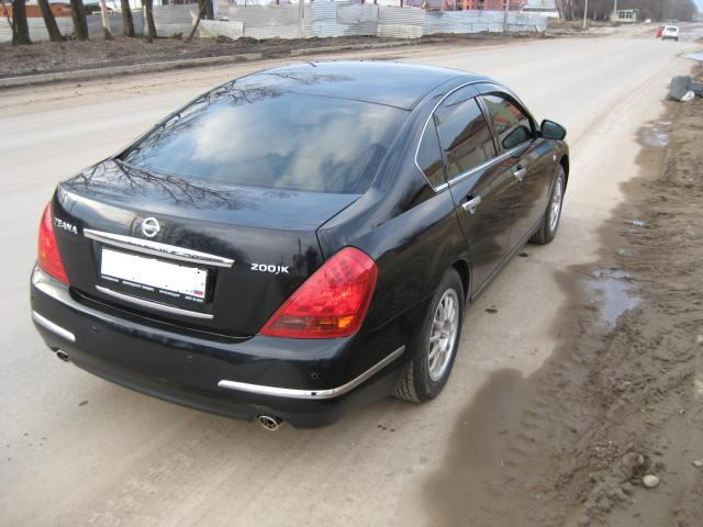 2007 Nissan Teana Pictures