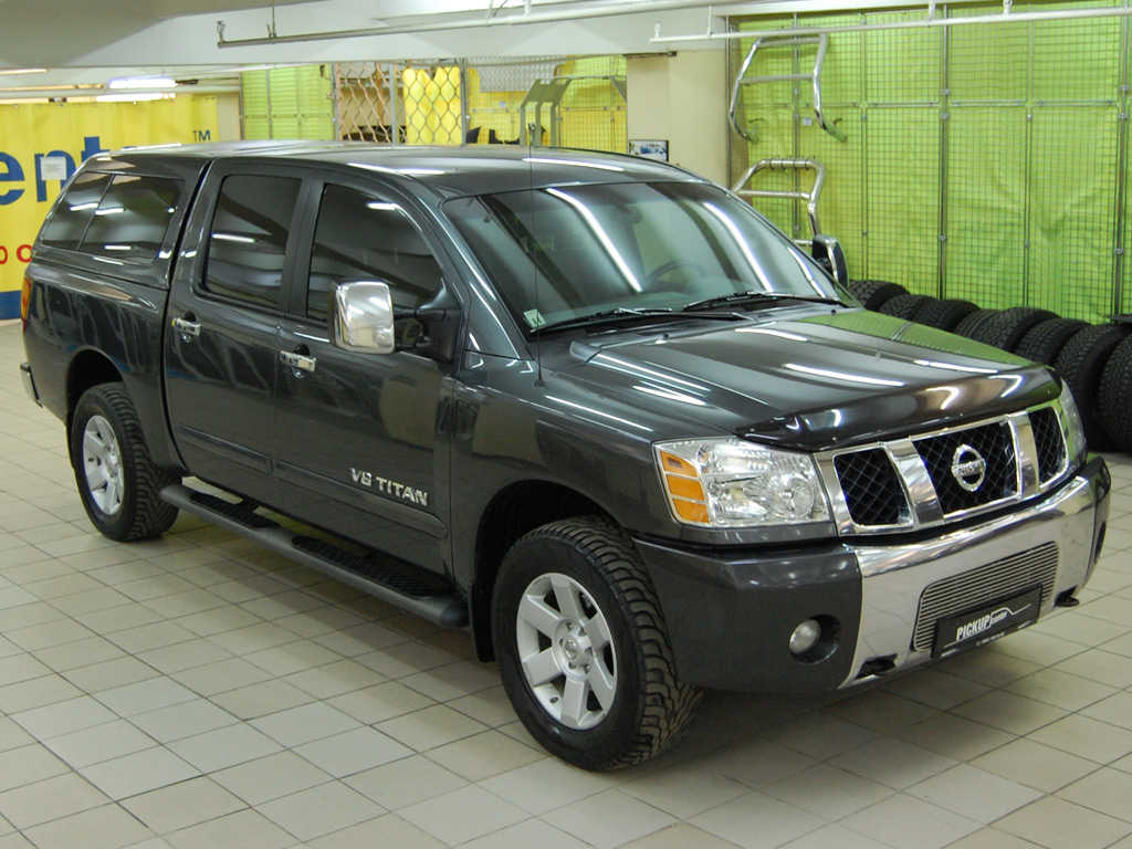 2006 nissan titan pictures gasoline automatic for sale. Black Bedroom Furniture Sets. Home Design Ideas