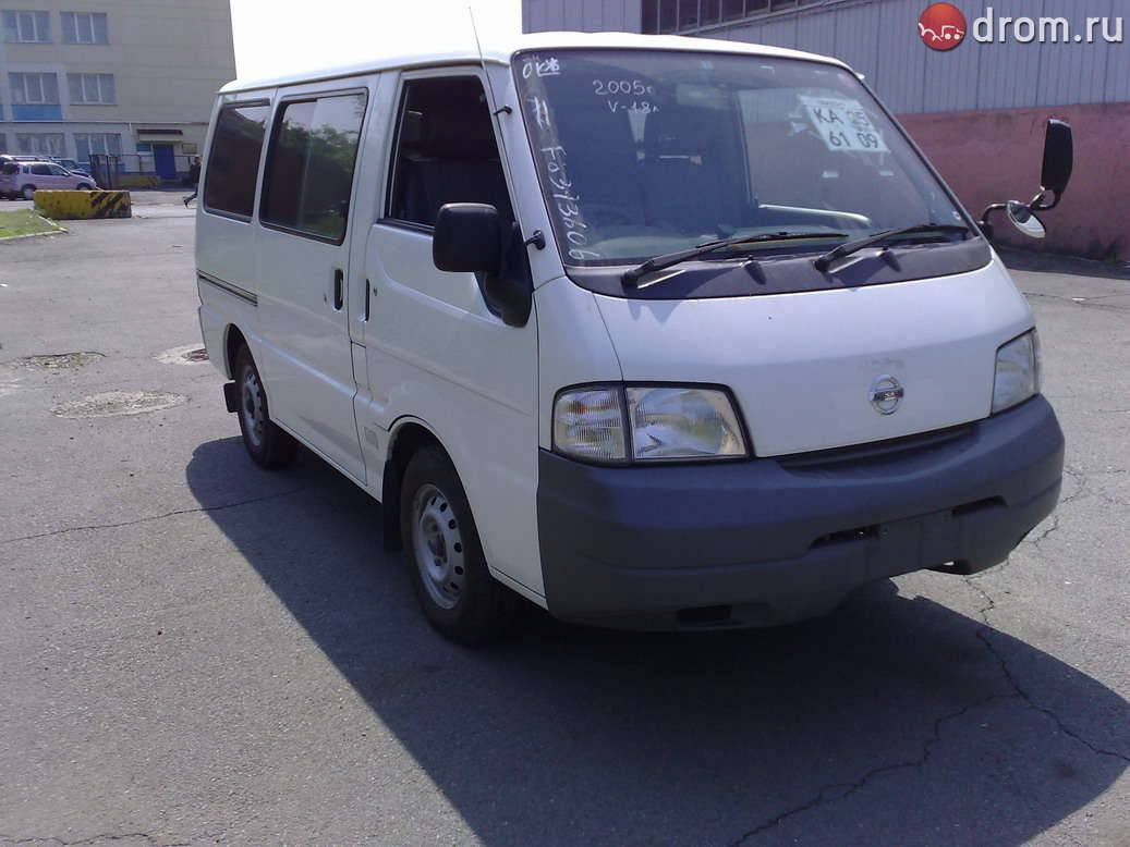 2005 nissan vanette van pictures gasoline fr or rr automatic for sale. Black Bedroom Furniture Sets. Home Design Ideas