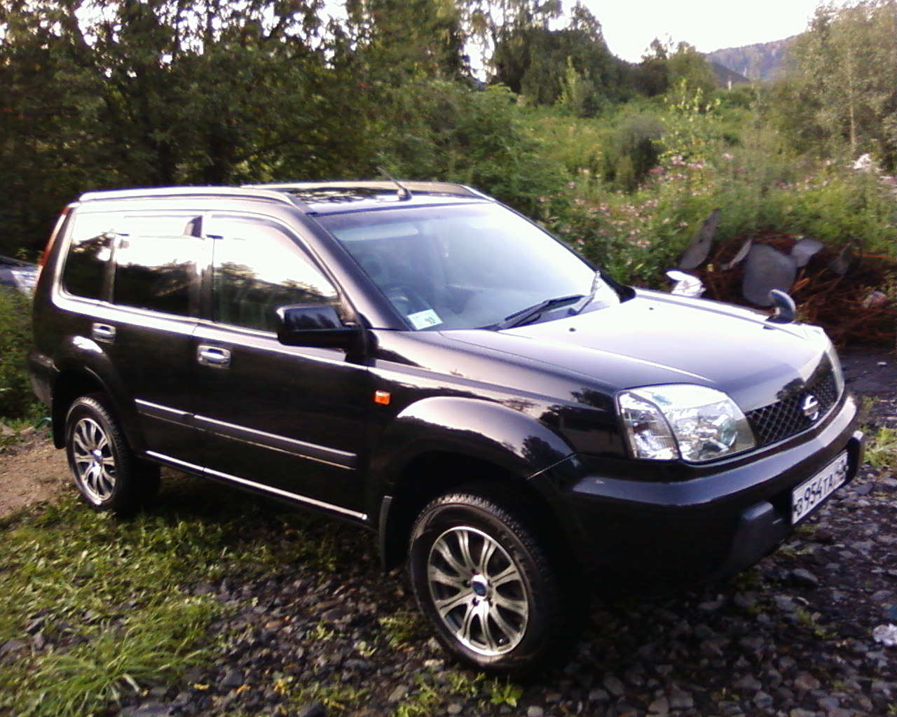2001 nissan x trail pictures gasoline automatic for sale. Black Bedroom Furniture Sets. Home Design Ideas