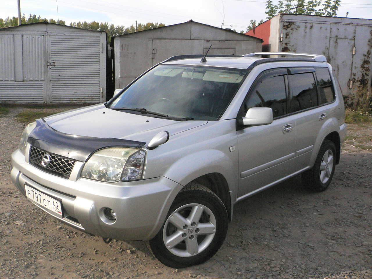 2003 nissan x trail pics 2 0 gasoline automatic for sale. Black Bedroom Furniture Sets. Home Design Ideas
