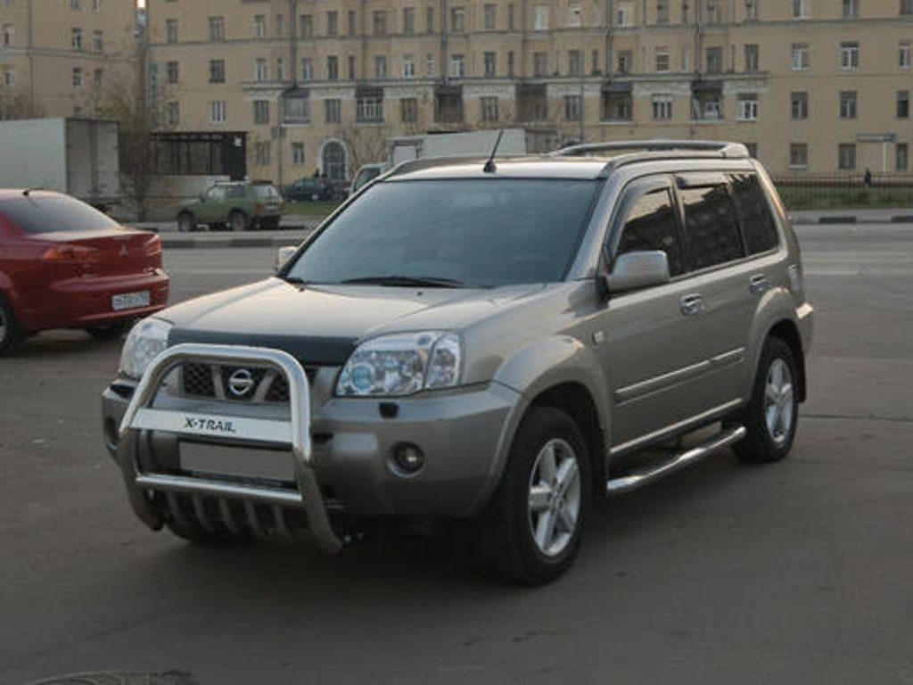 2005 nissan x trail pictures
