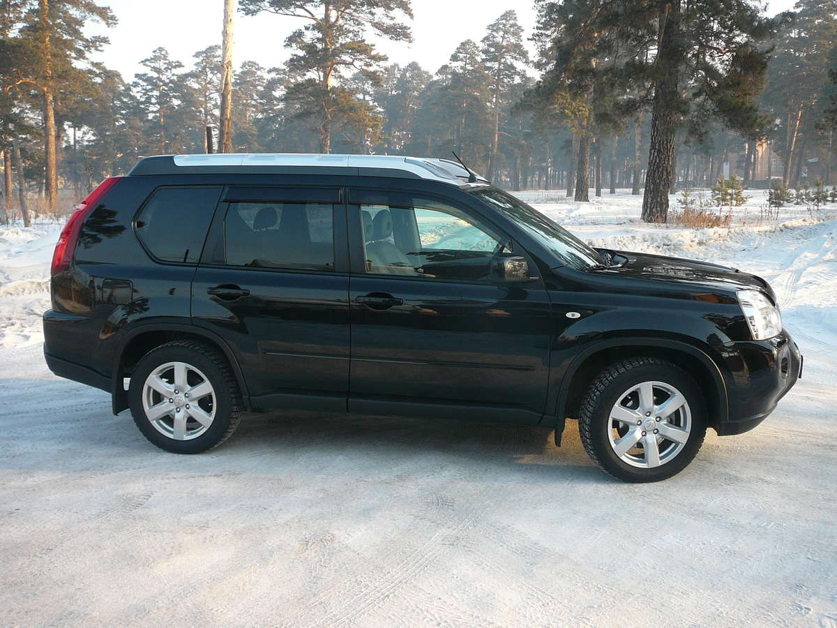 used 2010 nissan x trail photos 2500cc gasoline cvt. Black Bedroom Furniture Sets. Home Design Ideas