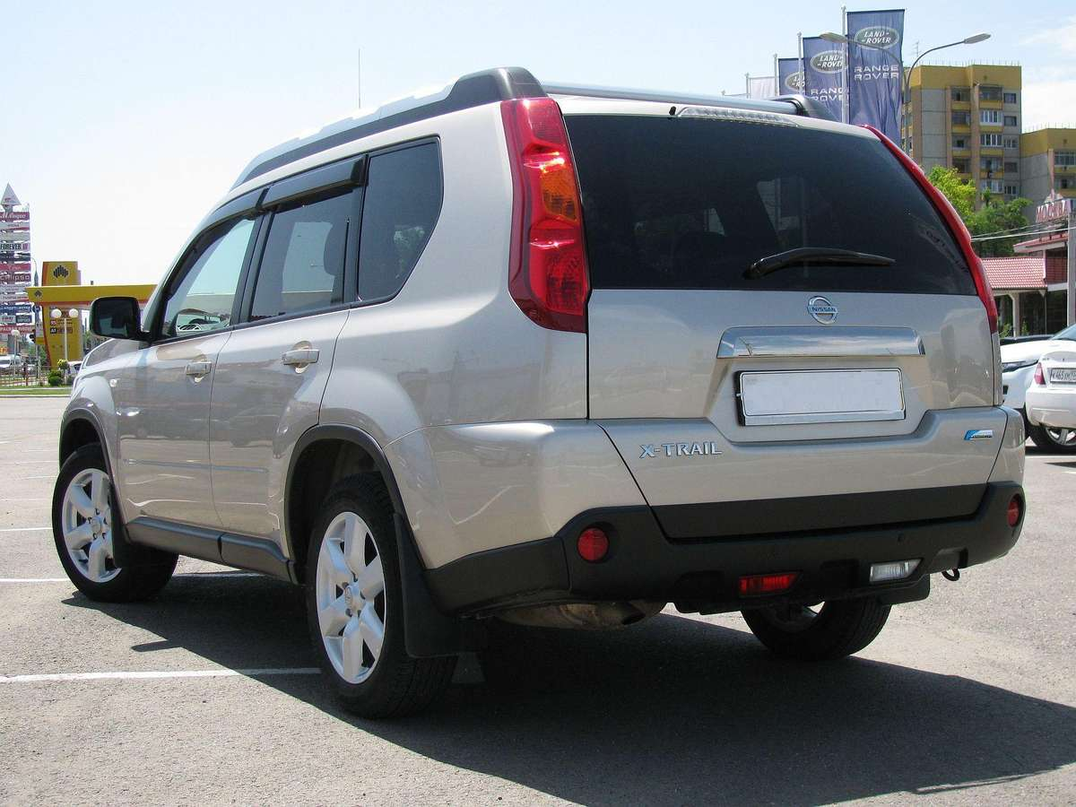 2010 nissan x trail pictures gasoline automatic. Black Bedroom Furniture Sets. Home Design Ideas