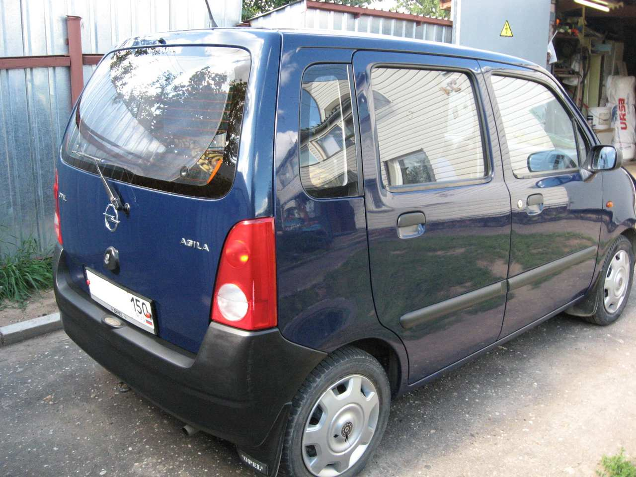 used 2001 opel agila photos 973cc gasoline ff manual for sale. Black Bedroom Furniture Sets. Home Design Ideas