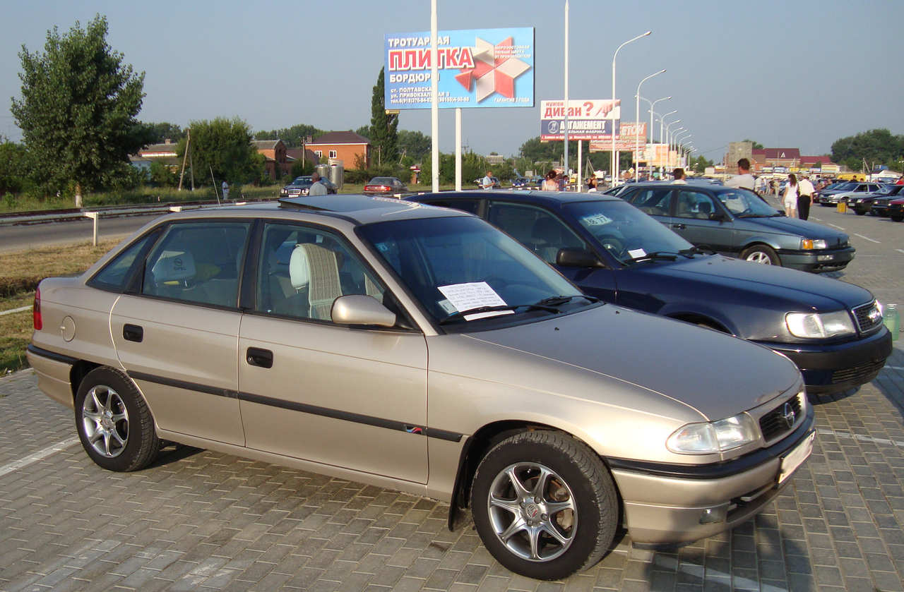 Used 1997 OPEL Astra Photos, 1600cc., Gasoline, FF, Manual For Sale