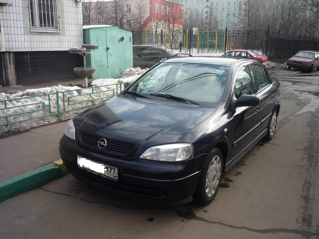 used 2003 opel astra photos 1600cc gasoline ff manual. Black Bedroom Furniture Sets. Home Design Ideas