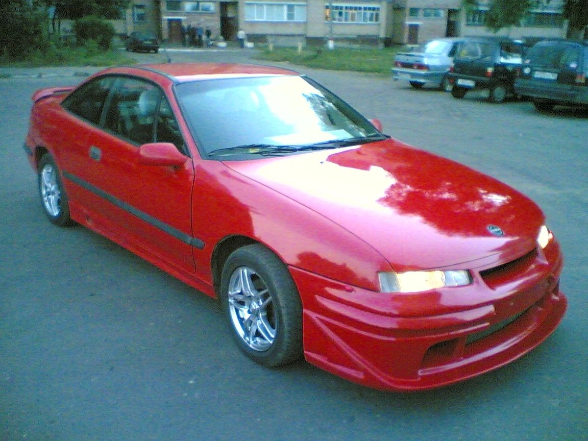 1991 opel calibra pictures 2000cc gasoline ff manual for sale. Black Bedroom Furniture Sets. Home Design Ideas