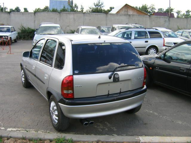1998 opel corsa pictures 1400cc gasoline ff automatic for sale. Black Bedroom Furniture Sets. Home Design Ideas