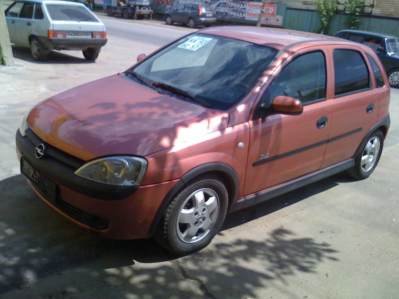 2001 opel corsa photos 1 4 gasoline ff automatic for sale. Black Bedroom Furniture Sets. Home Design Ideas