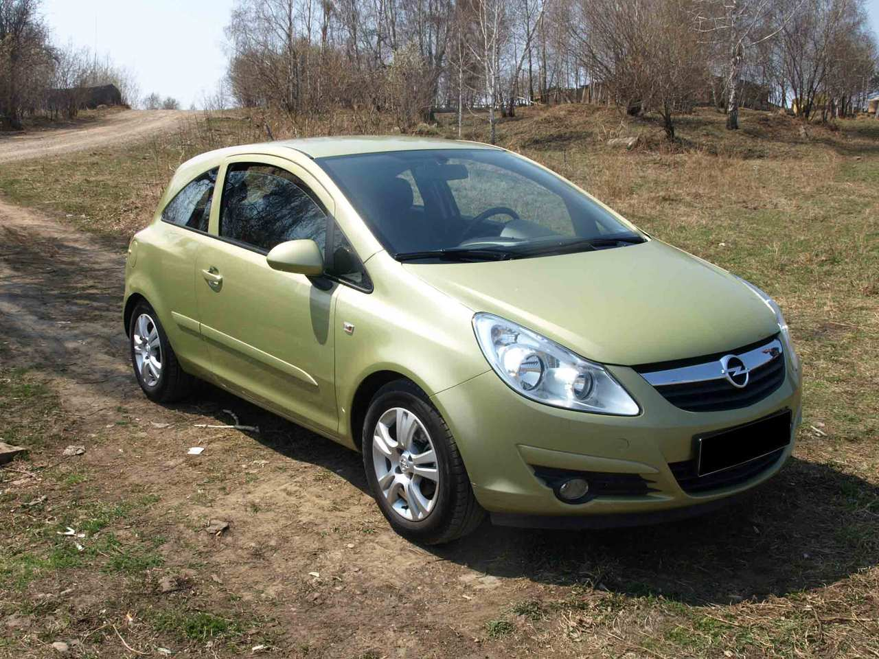 2007 opel corsa pictures gasoline ff cvt for sale