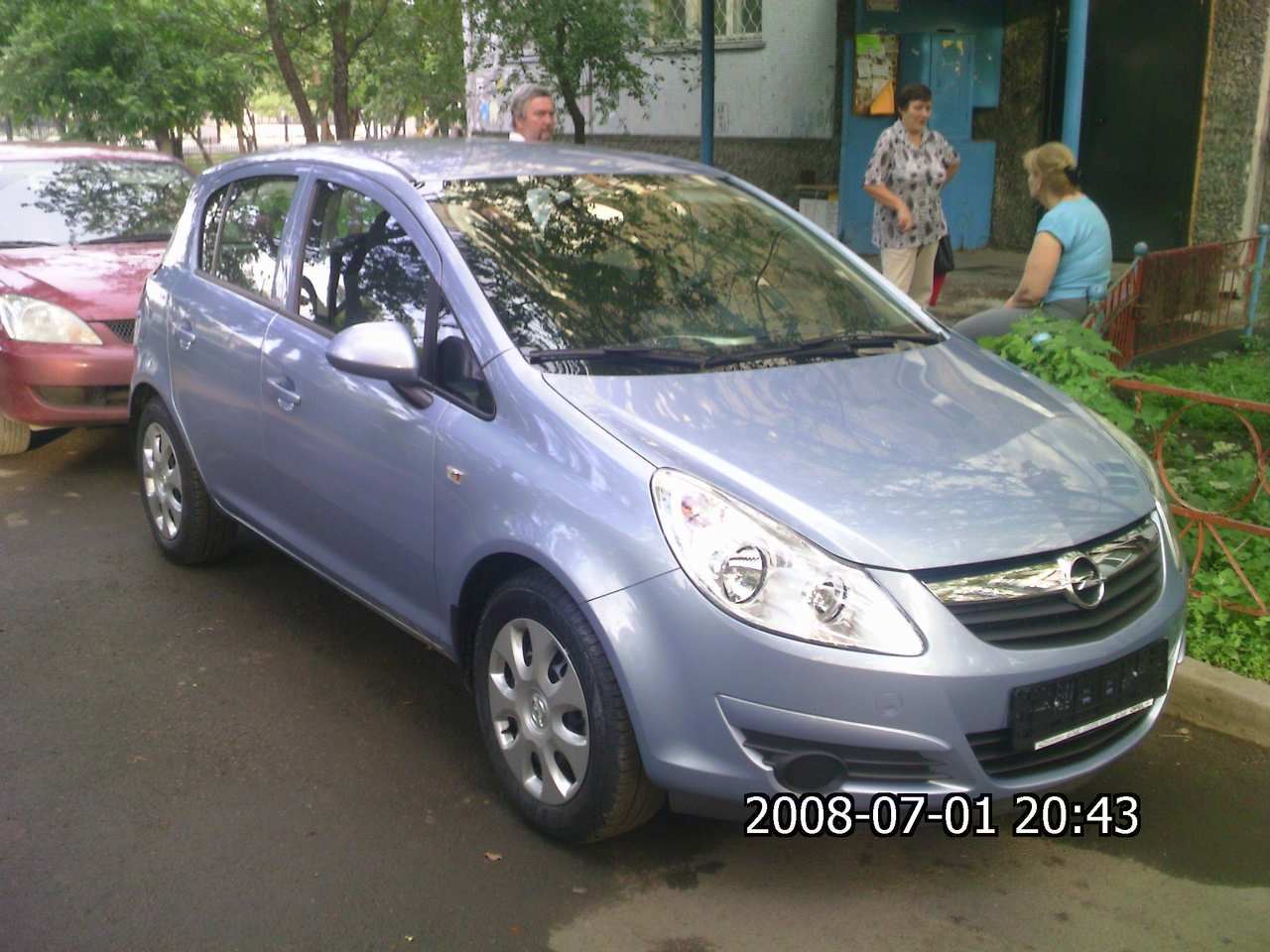 2008 opel corsa pictures gasoline ff automatic for sale. Black Bedroom Furniture Sets. Home Design Ideas