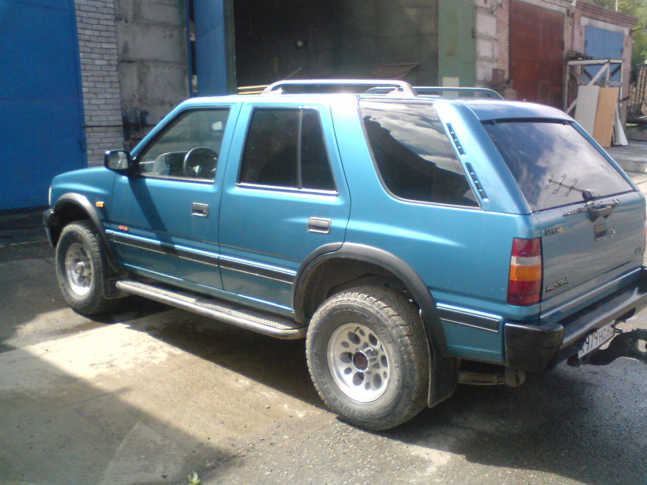 used 1993 opel frontera photos 2400cc gasoline manual for sale. Black Bedroom Furniture Sets. Home Design Ideas