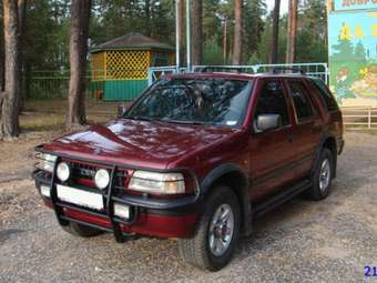 1996 OPEL Frontera Pictures