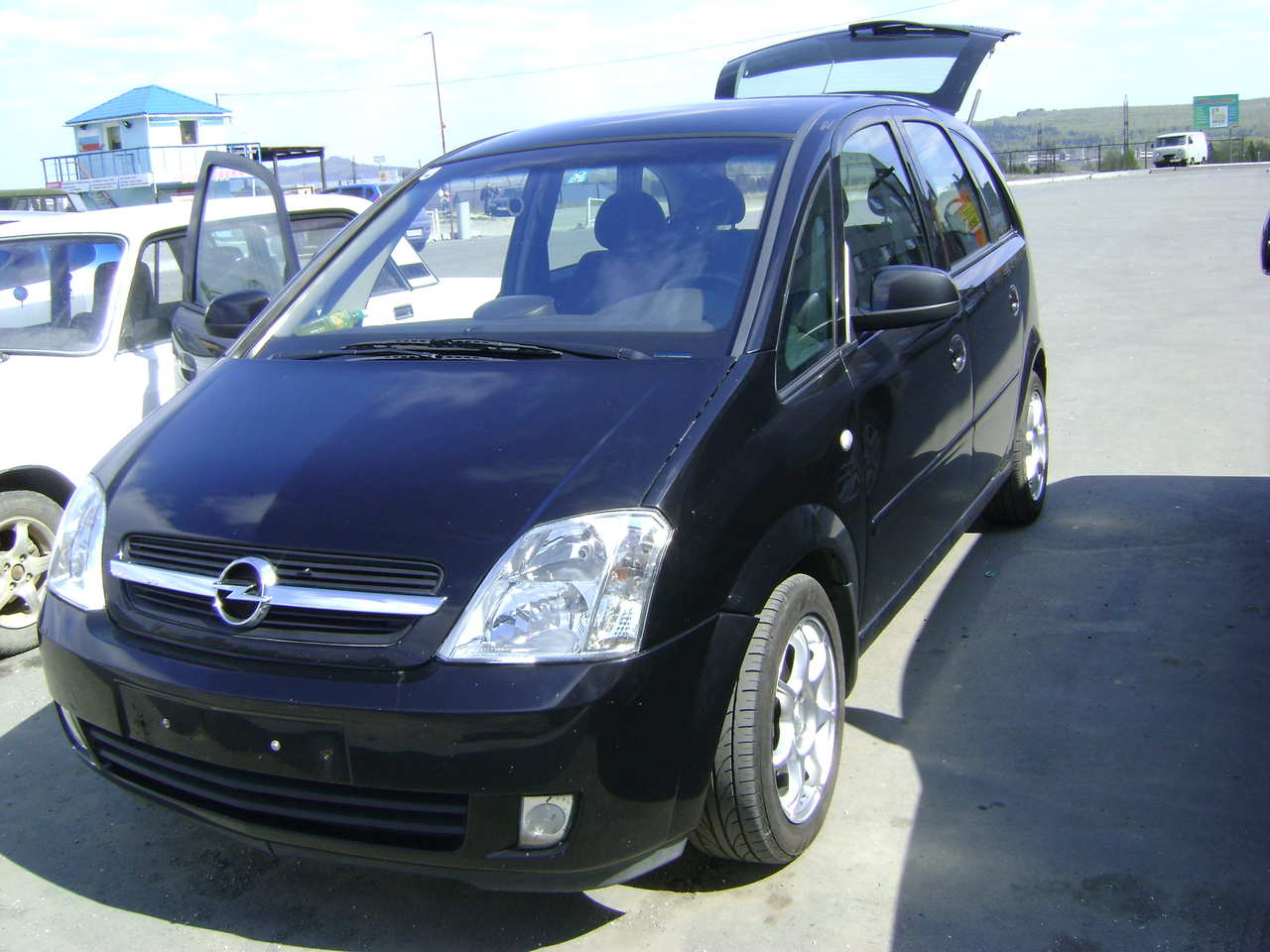 used 2003 opel meriva photos 1600cc gasoline ff manual for sale. Black Bedroom Furniture Sets. Home Design Ideas