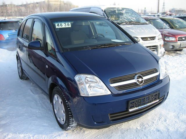 2004 opel meriva pics. Black Bedroom Furniture Sets. Home Design Ideas