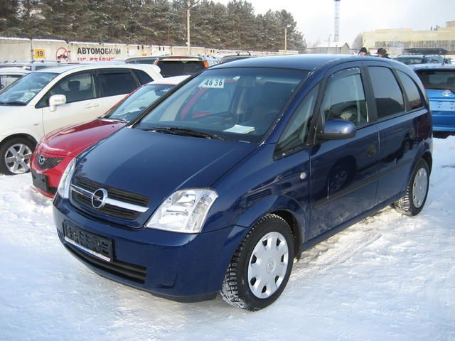 2004 opel meriva pictures. Black Bedroom Furniture Sets. Home Design Ideas