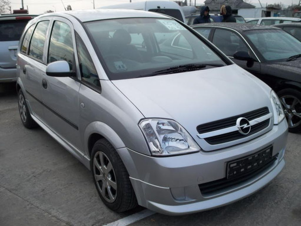 2004 opel meriva 1 4 related infomation specifications weili automotive network