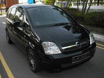 2005 opel meriva pics 1 6 gasoline ff automatic for sale. Black Bedroom Furniture Sets. Home Design Ideas