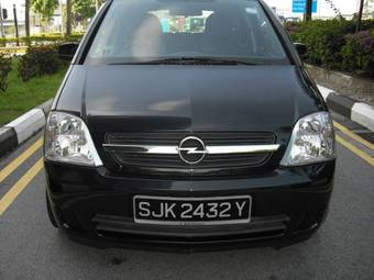 2005 opel meriva pictures gasoline ff automatic for sale. Black Bedroom Furniture Sets. Home Design Ideas