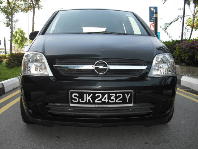 2005 opel meriva pictures 1600cc gasoline ff automatic for sale. Black Bedroom Furniture Sets. Home Design Ideas