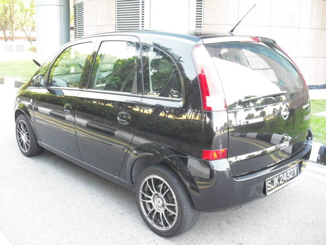 2005 opel meriva photos 1 6 gasoline ff automatic for sale. Black Bedroom Furniture Sets. Home Design Ideas