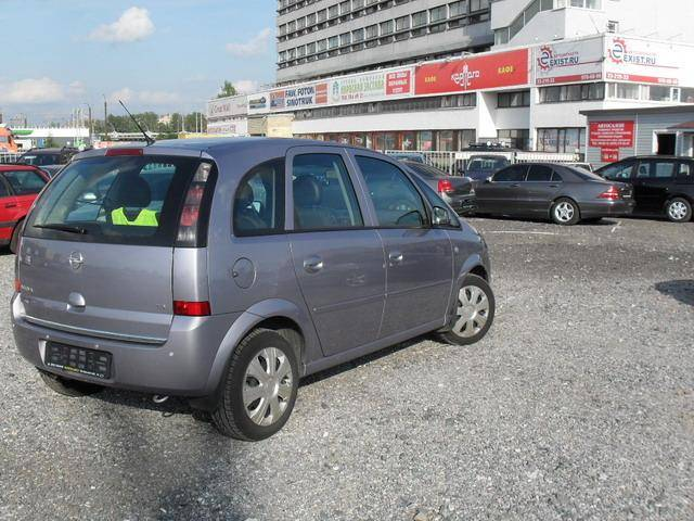 2006 opel meriva photos 1 6 gasoline ff manual for sale. Black Bedroom Furniture Sets. Home Design Ideas