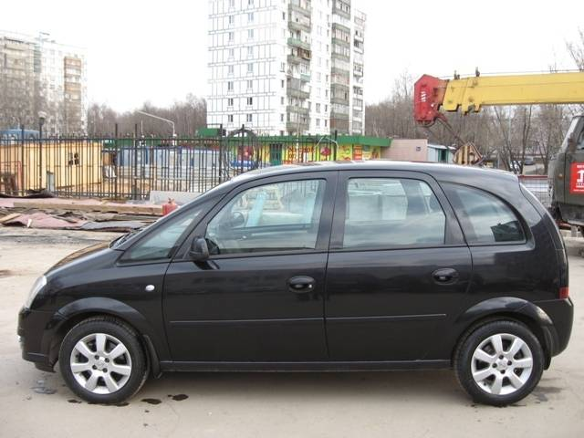 2007 opel meriva pictures gasoline ff automatic for sale. Black Bedroom Furniture Sets. Home Design Ideas