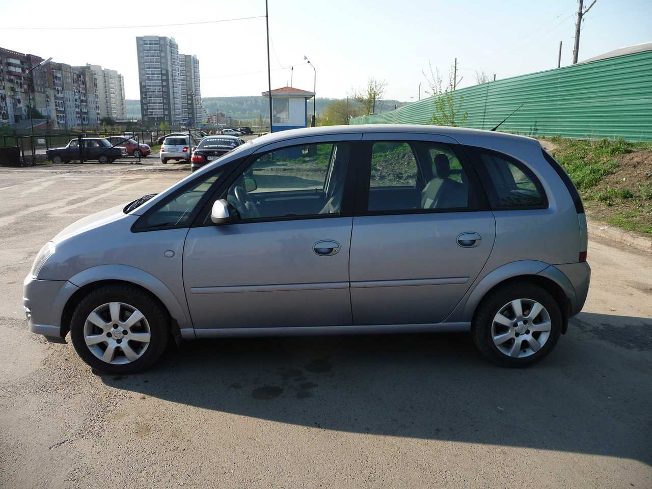 2007 opel meriva photos 1 6 gasoline ff automatic for sale. Black Bedroom Furniture Sets. Home Design Ideas