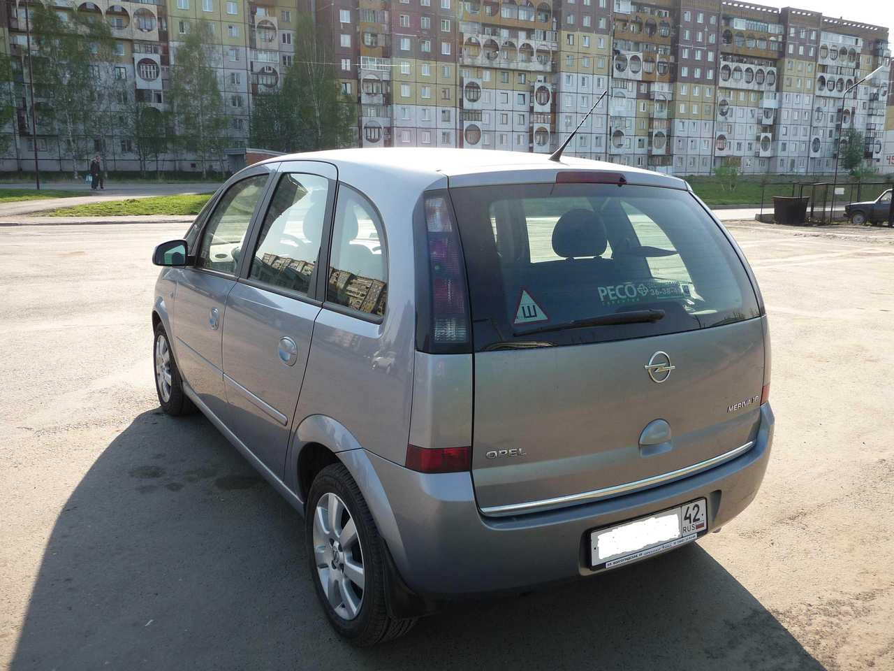 used 2007 opel meriva photos 1600cc gasoline ff automatic for sale. Black Bedroom Furniture Sets. Home Design Ideas