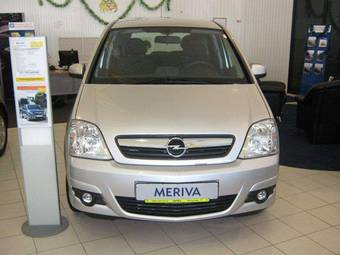 used 2009 opel meriva photos 1600cc gasoline manual for sale. Black Bedroom Furniture Sets. Home Design Ideas