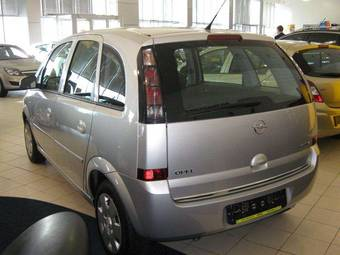 2009 opel meriva photos 1 6 gasoline manual for sale. Black Bedroom Furniture Sets. Home Design Ideas