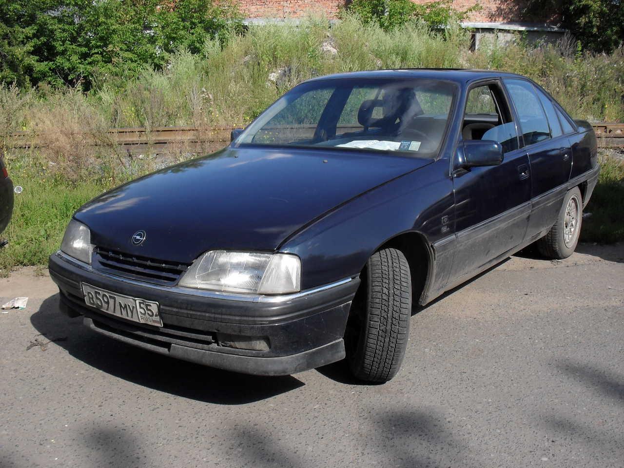 Opel Omega A B Orig on 1994 Acura Legend