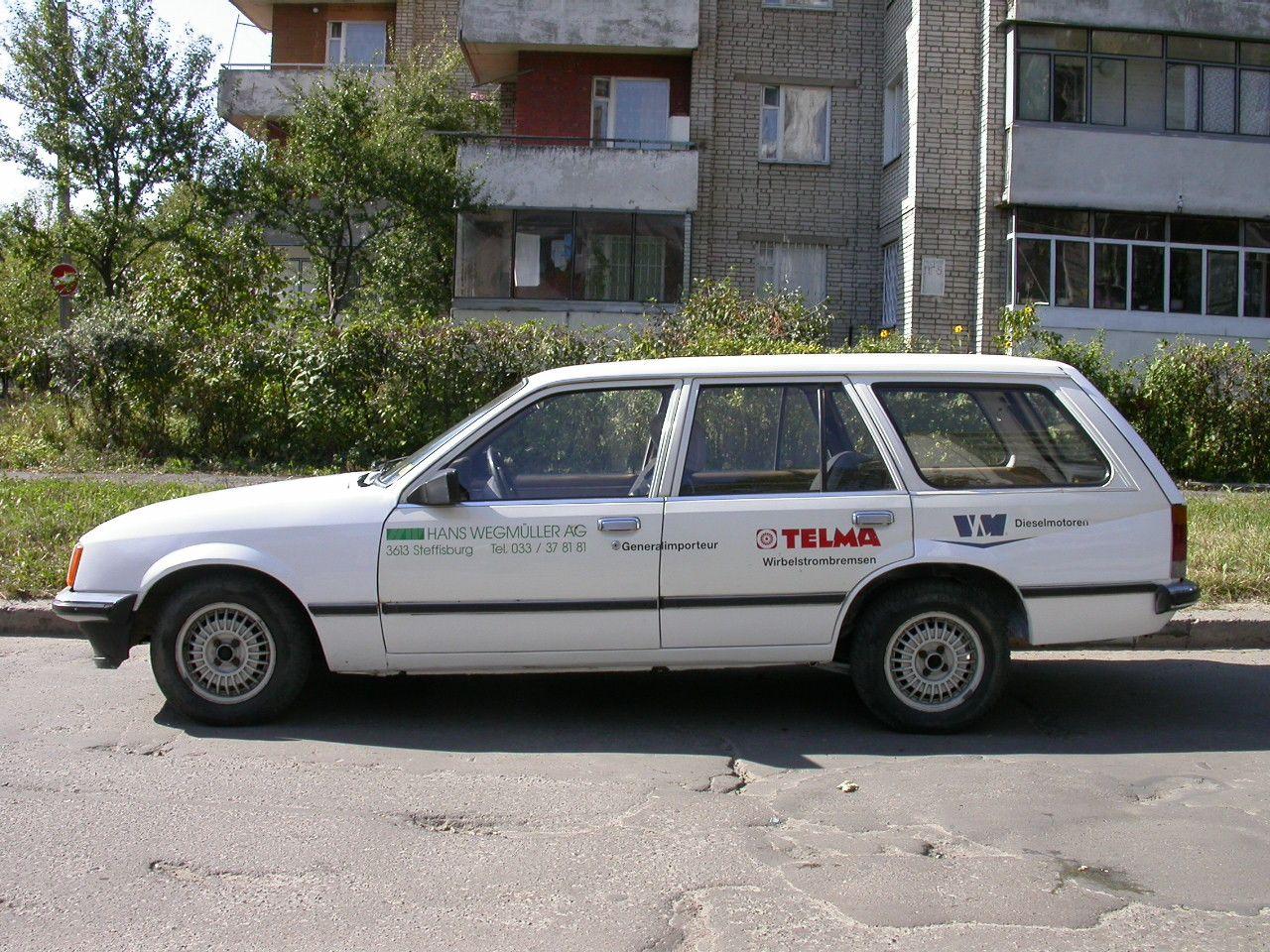 1982 OPEL Record Caravan