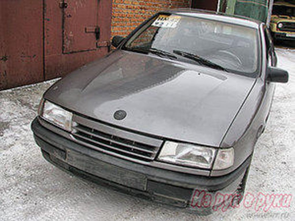 1989 OPEL Vectra. ← Is this a