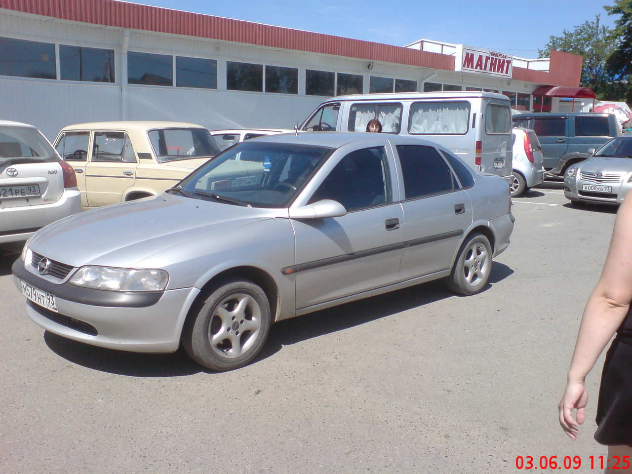 1997 OPEL Vectra. ← Is this a