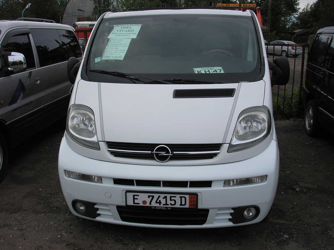 used 2002 opel vivaro photos 1900cc gasoline ff manual for sale. Black Bedroom Furniture Sets. Home Design Ideas